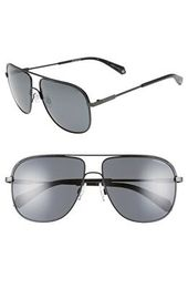 81ece450ee74 DIFF Designer Nova 50mm Polarized Semi Rimless Geo Sunglasses ...