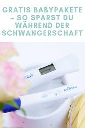 Gratis Babypakete – So sparst du während der Schwangerschaft