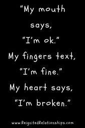 Zitate des gebrochenen Herzens – Amy Kepler