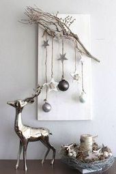 Skandinavische DIY Weihnachtsschmuck und Bastelideen für Weihnachten   – DIY – Winter