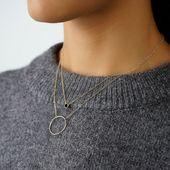Collier Cercle authentic – L'atelier fashionable