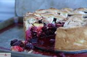 Deep Dish Blackberry Peach Pie   – Cakes, Pies, Tarts and More!