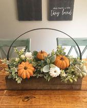 – Herbst basteln – # Carving #notitle   – Deko-Herbst – #basteln #Carv…
