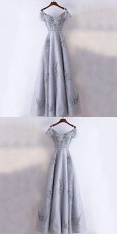 Prom Dress Long, Modest Prom Dresses, Prom Dresses A-Line – Prom