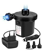 Awroutdoor Elektrische Luftpumpe 2 in 1 Elektropumpe Power Pump mit 3 Luftdüse …