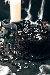 Death-By-Chocolate Halloween Cake – Baking