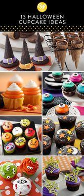 13 Halloween Cupcake Ideen  – ♡ Halloween ♡