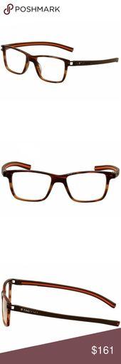 Tag Heuer Square Style Brown W/Demo Lens Tag Heuer Women's Square Eyeglasses… – My Posh Closet
