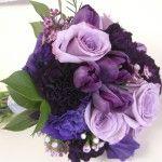 Lila Blumenstrauß   – Bridal Flowers & Showers