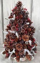 Photo of Fantastisches DIY Tannenzapfenhandwerk, das Ihre Weihnachtsdekoration verschönert 31