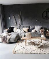 Tapis fait main vintage Beni Ourain / tapis marocain …