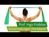 Rückenübungen mit dem Theraband – Bewegung hilft…