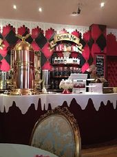 Richmond Tea Rooms Tea Room Alice In Wonderland Room Alice In Wonderland Wedding