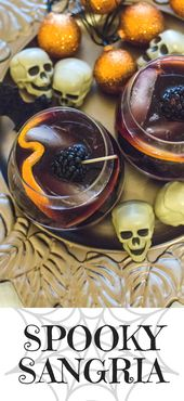 Spooky Sangria – der perfekte Cocktail für Halloween – Halloween party