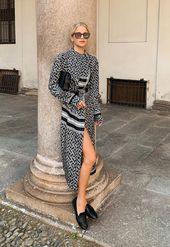 Los vestidos de otoño que más favorecen con & # 39; zapatillas de deporte & # 39;, botines y otros …   – street style