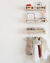 IKEA Gewürzregal Bekväm im Kinderzimmer – für Bücher und als Kleiderstange – Stacha Styles – Kinder