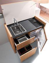 Kompakte Küchendesigns für kleine Räume – alles, was Sie brauchen in einer einzigen Einheit