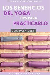 Tips de Yoga para principiantes