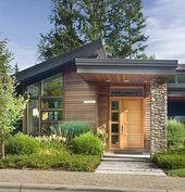 109 einfache und kleine Häuser Fassaden – schöne Fotos