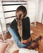geflochtene Frisur #frisur #braided – #frisur #bra…