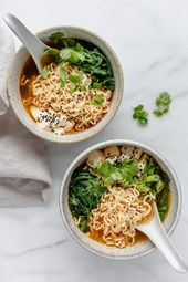 Quick & easy vegan ramen