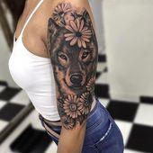 48 Zarte Tiere Tattoo-Ideen, die Sie inspirieren