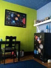 Solar system bedroom decor. | Elijah Room | Pinterest | Solar ...
