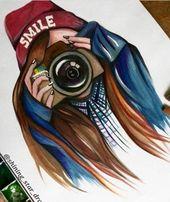 ▷ 1001 + Bilder zum Zeichnen perfekter Mädchen – Ideen zur Entwicklung ihrer Kreativität