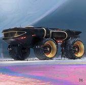 62+ Concepts Sci Fi Idea Artwork Automobiles