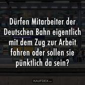 Dürfen Mitarbeiter der Deutschen Bahn eigentlich mit dem Zug zur