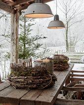Photo of Ausgebautes Bauernhaus in den Niederlanden zu Weihnachten dekoriert #adventskranzdiy …
