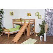 Reduzierte Hochbetten & Spielbetten mit Rutsche – Products