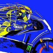 Badass Motorcycle Art by Hamerred49
