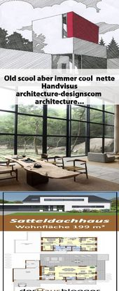 Old scool aber immer cool … nette Handvisus architecture-desi… #architecture…