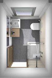 Badrenovierung: Dusche im Gäste-WC von Banovo GmbH