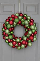 Diy ornament wreath under 30 nataliastyle wreaths ornament diy ornament wreath under 30 nataliastyle wreaths ornament and holidays solutioingenieria Gallery