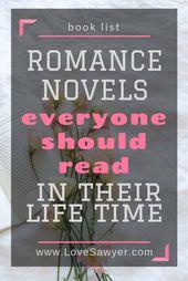 Meilleurs romans d'amour de tous les temps   – Babes in Bookland