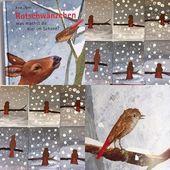 """Froileins Kunterbunt ?????? on Instagram: """"Das kleinen Rotschwänzchen im Schneegestöber. ❄️️☃️?Passend zum Bilderbuch """"Rotschwänzchen was machst du hier im Schnee?"""" ❄️ haben wir…"""""""