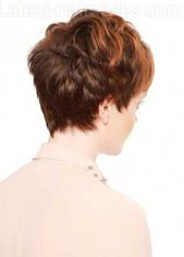 Bilder für Straight Pixie Cut Back #curlyhair