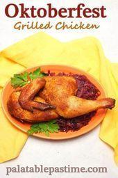 Oktoberfest gegrilltes Huhn – #Gegrilltes #Huhn #Oktoberfest – #Gegrilltes #Huhn…