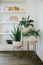 12 Elegante Ideen und Inspirationen für DIY-Pflanzenstände