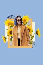 Digitale Collagen für Influencer, Blogger, Modern…