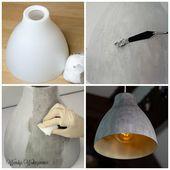 Design Betonlampe ganz einfach selber machen – ohne Staub und Dreck