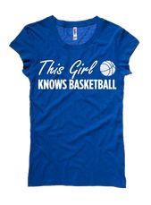 Dieses Mädchen weiß, #Basketball #Tee www.thestyleref.com #basketballclothes   – #THEBESTSPORT!!