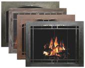 Bar Iron Collection Of Fireplace Glass Doors Fireplace Glass