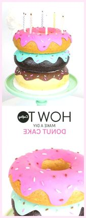 Easy Cake: Home, #donutdecorhowtomake #Home, #donutdecorhowtomake – Kuchenrezept …   – Torten