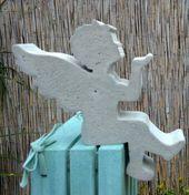 Beton Giessform Engel Kantenhocker Nr 2 25 Cm Dekorativer Beton Giessformen Fur Beton Holzdeko Weihnachten Vorlagen