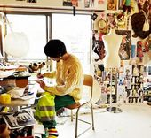 Illustrator Workspace writtenafterwards - a fashion label in Tokyo and one of the subjects of #fashion...