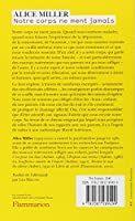 Amazon Fr Notre Corps Ne Ment Jamais Miller Alice Marcou Lea Livres Livre Corps