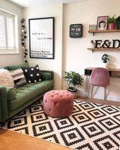 ✔66 perfect apartment living room decor ideas on a budget 53 ~ aacmm.com
